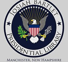 Josiah Bartlet Presidential Library Logo by pscof42