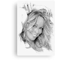 Mariah Carey Canvas Print