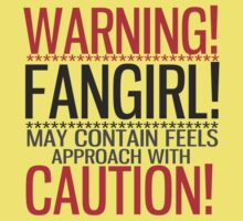 WARNING! FANGIRL (II) Kids Clothes