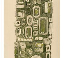 Green column by Gordon Snee