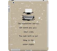 Typewriter iPad Case/Skin