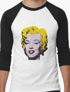 Marilyn Monroe Art Men's Baseball ¾ T-Shirt