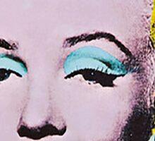 Marilyn Monroe Art Sticker