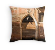Down but never out Throw Pillow