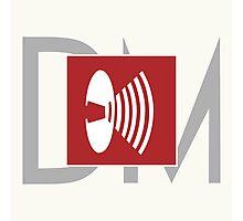 Depeche Mode - Music For The Masses Logo Photographic Print