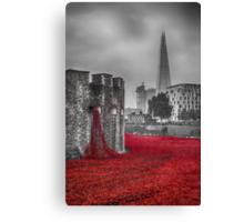 Blood Swept Lands 3 Canvas Print