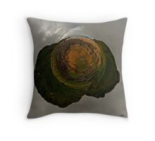 Glenagivney Beach, Inishowen, Donegal Throw Pillow
