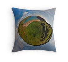 Silver Strand Beach, Malin Beg, South Donegal Throw Pillow