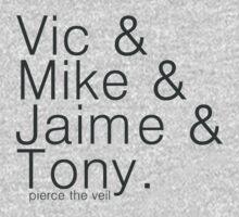 vic&mike&jaime&tony Kids Clothes