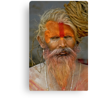 Sadhu (Holy man) II Canvas Print