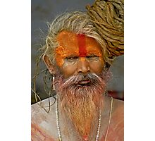 Sadhu (Holy man) II Photographic Print