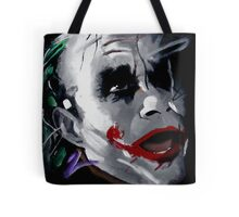 The Joker Canvas Tote Bag