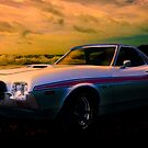 72 Ford Ranchero By The Sea by ChasSinklier