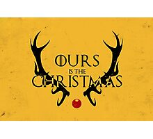 Ours Is The Christmas Photographic Print