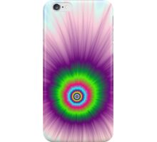 Explosion in Green Purple and Blue iPhone Case/Skin