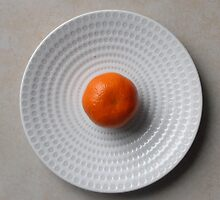 The Plate 2 by Carol Dumousseau