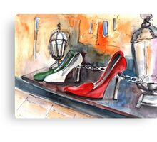 Italian Shoes 03 Canvas Print