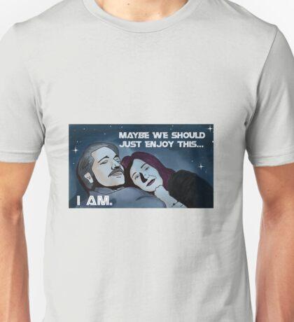 Battlestar Galactica's Roslin and Adama Unisex T-Shirt