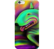 English Bull Terrier Colour Splash  iPhone Case/Skin