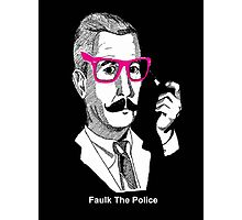 Faulk The Police Photographic Print