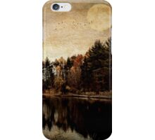 Mysterious Movement of the Seasons iPhone Case/Skin
