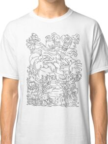 Doodle Pokémon (Ghost Type Version) Classic T-Shirt