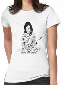 Blerta Can See It! Womens Fitted T-Shirt