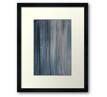 Blue shades Framed Print