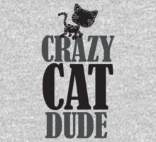 Crazy cat dude T-Shirt
