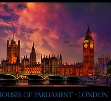 Houses of Parliament - London by LudaNayvelt