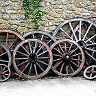Cart Wheels by Gemma Cooles
