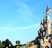 Disneyland Paris Sleeping Beauty's Castle - Le Château de la Belle au Bois Dormant by Charlotea