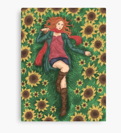 For Amy Pond Canvas Print
