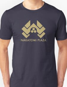 A distressed version of the Nakatomi Plaza symbol Unisex T-Shirt