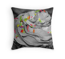 Sprinkles without the cupcake Throw Pillow