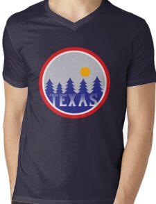 Texas Mens V-Neck T-Shirt