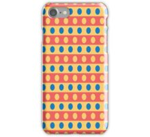 Horizontal Dots iPhone Case/Skin