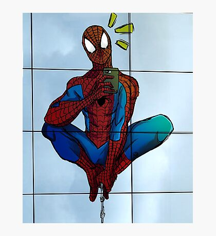 Spidey Selfie  Photographic Print