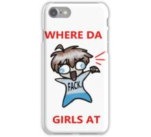 Cute Chibi Boy Slang iPhone Case/Skin