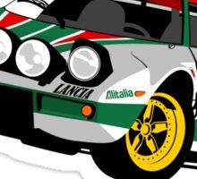 Lancia Stratos Sticker
