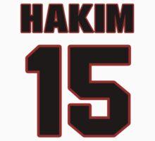NFL Player Saalim Hakim fifteen 15 by imsport