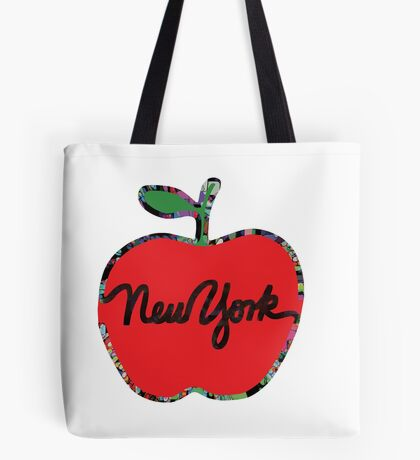 New York red apple Tote Bag