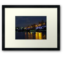 Kangaroo Point Cliffs Framed Print