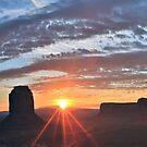 Monumental Sunrise..... by Peter Doré