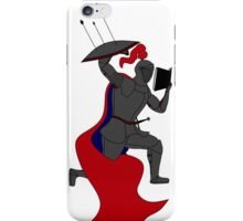 The Knowledgable Knight iPhone Case/Skin