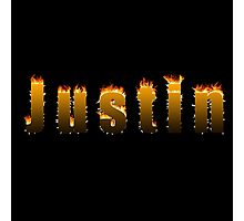 Justin Fire Photographic Print