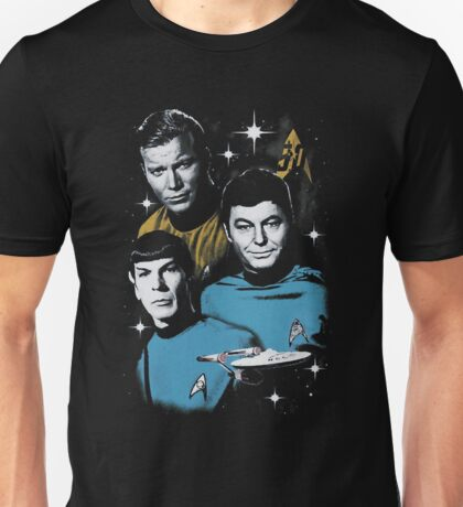 Star Trek 50th Anniversary All Star Crew Unisex T-Shirt