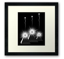 Secrets of the Pyramids b Framed Print