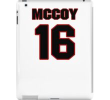 NFL Player Colt McCoy sixteen 16 iPad Case/Skin