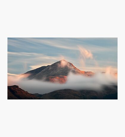 Misty Mountain Photographic Print